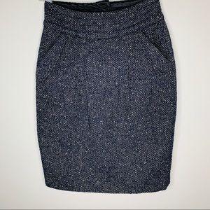 CAbi Tweed Skirt Size 0
